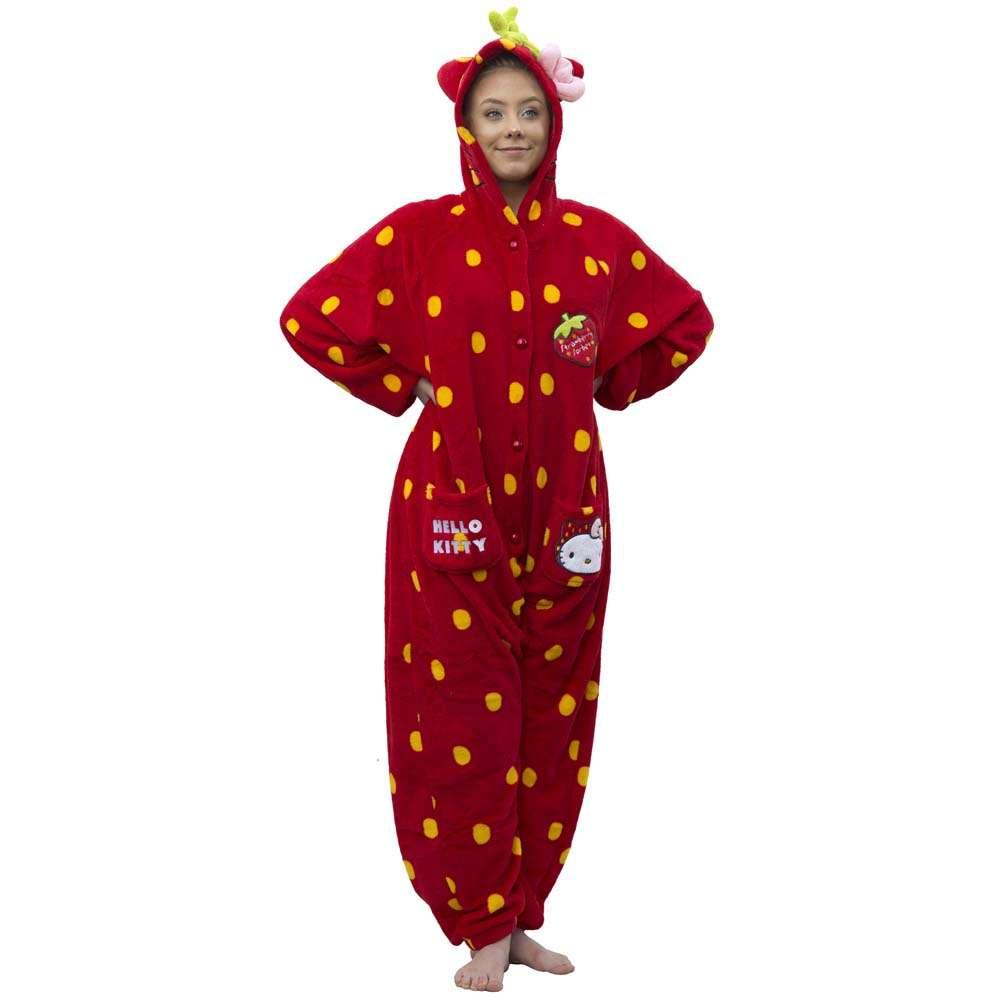 Strawberry Sorbet – Hello Kitty Cutie Frutie Cutie Strawberry Onesie One size