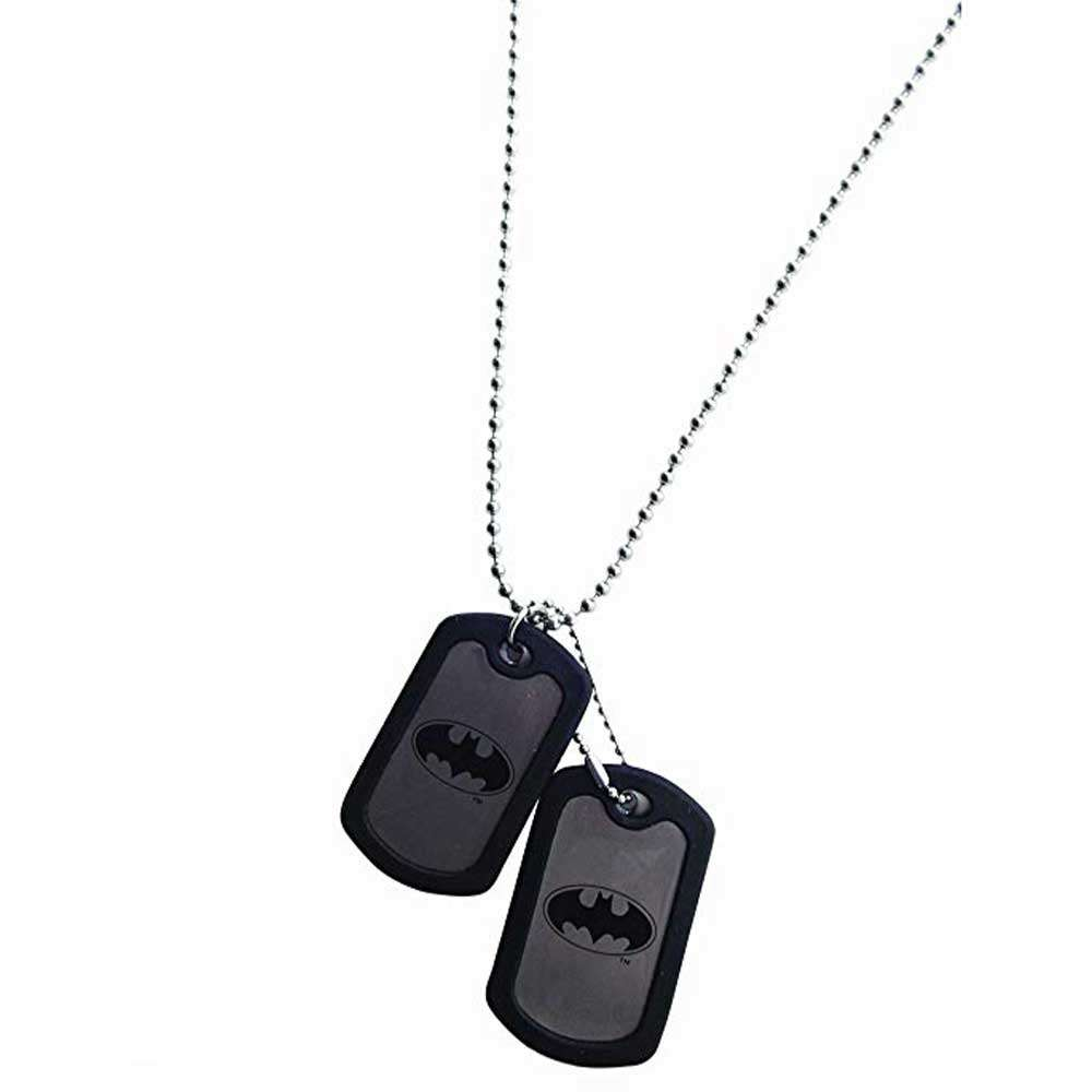 Batman Dog Tag - Official DC Comics Batman Men - Pendant with Chain