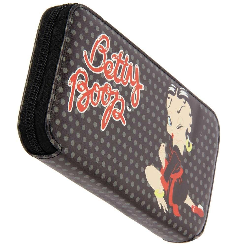 Betty Boop Polkadot Long Wallet