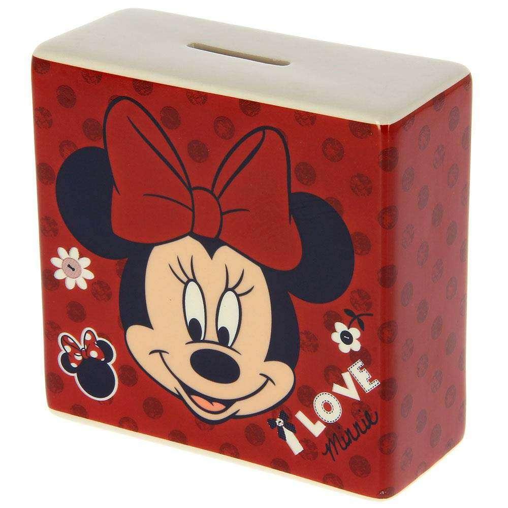Disney I LOVE MINNIE Money bank With Gift Box.