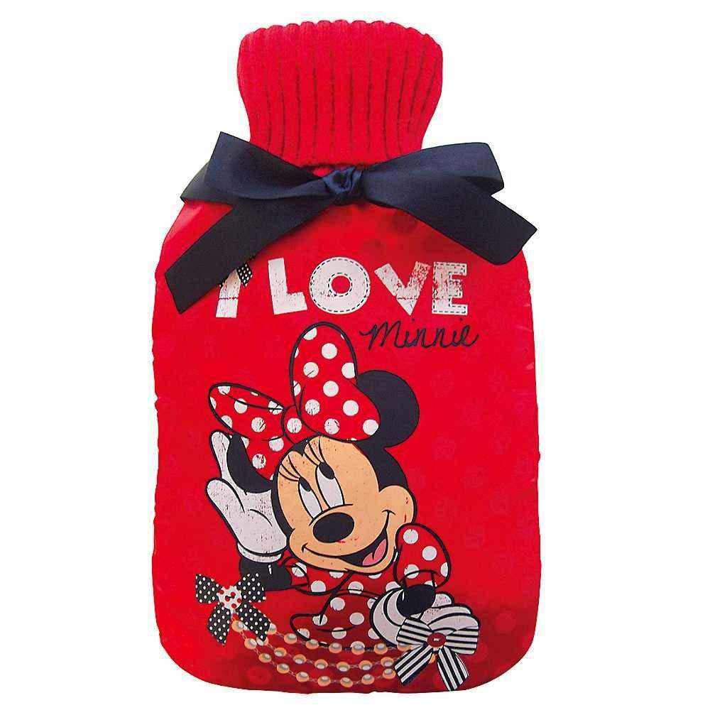 Disney Minnie Mouse Hot water Bottle & cover set 2LTR