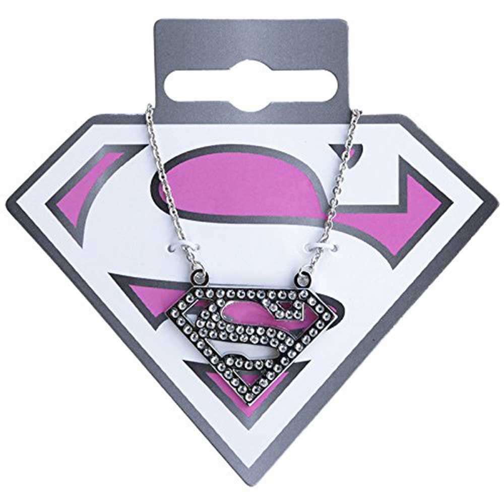 Super girl- Official DC Comic Super girl Silver Pendant & Chain