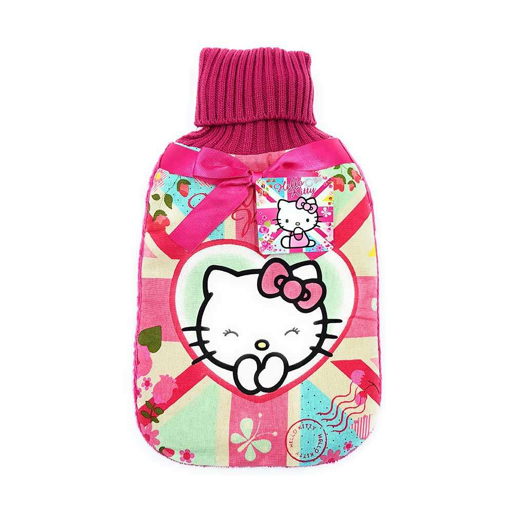 Hello Kitty Blossom Dreams hot water bottle & Cover set – 2Ltr