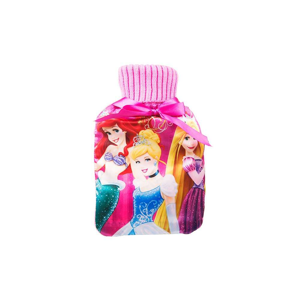 Disney Princess – Hot water bottle & Cover set – 1 Ltr