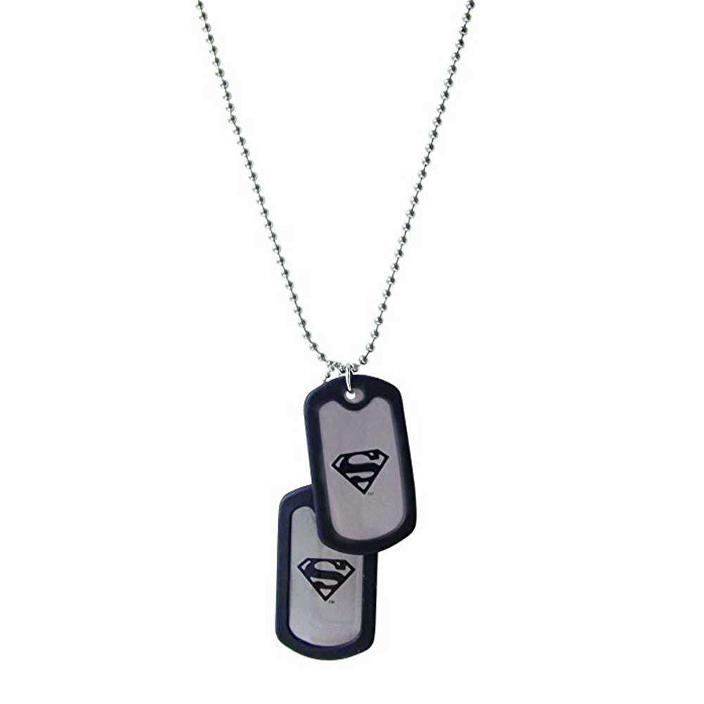 All yours Superman Dog Tag - Official DC Comics Super Men - Pendant with Chain 2020
