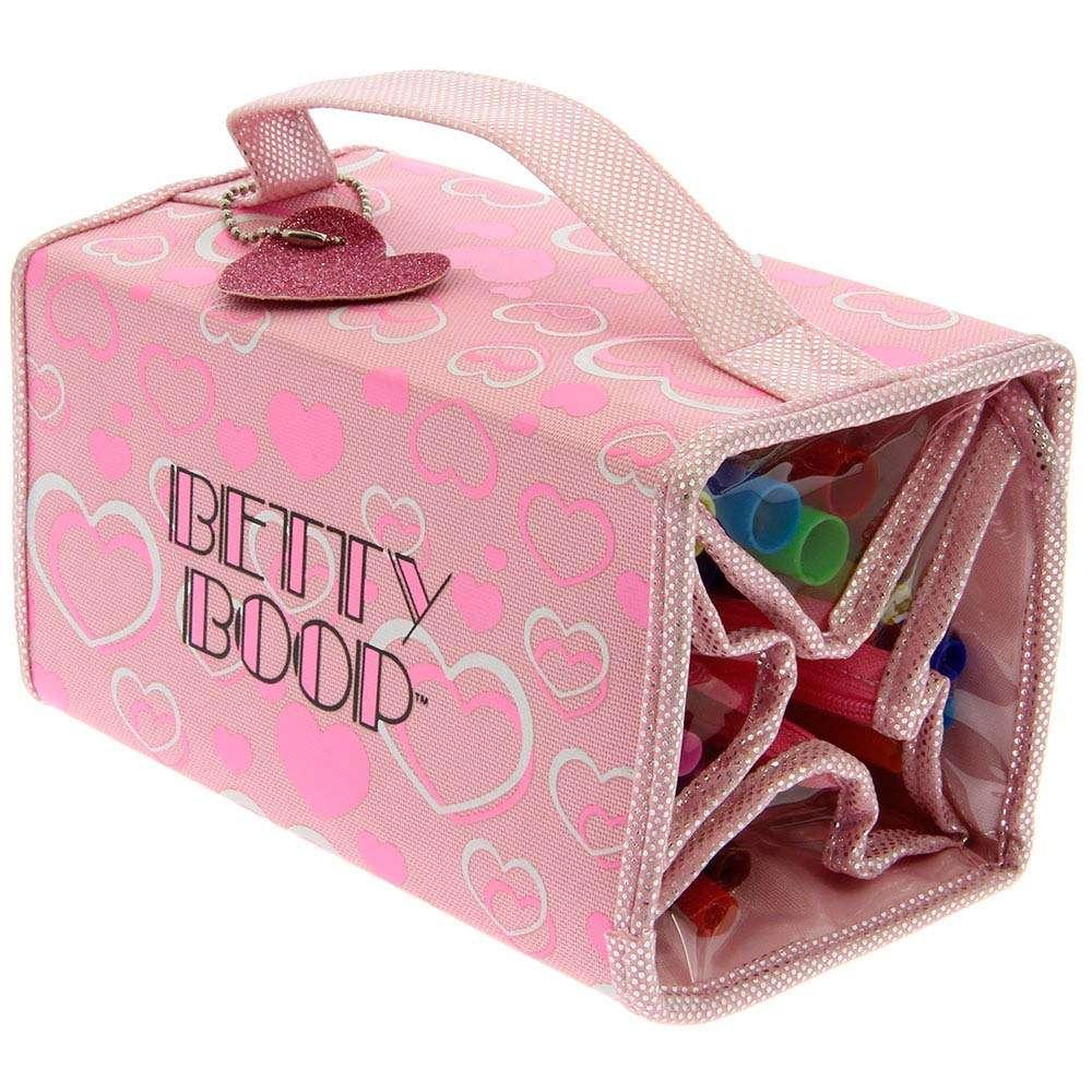 Betty Boop Pink Wrap Pencil Case